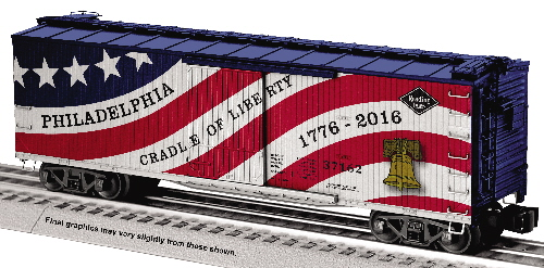 Reading Cradle of Liberty 6-83862 Boxcar